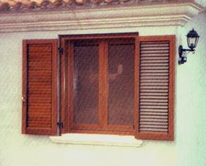 Finestra con persiana (monoblocco)